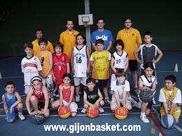 Año 2008 - Campus Fundación Gijón Baloncesto