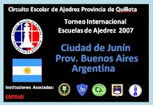 TORNEO INTERNACIONAL ESCUELAS DE AJEDREZ 2007