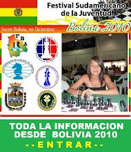 LA ALUMNA JAVIERA ENCINA DEL COLEGIO TIERRA DEL FUEGO EN LOS SUDAMERICANOS DE AJEDREZ 2010