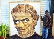 Un père Laval en peaux de banane
