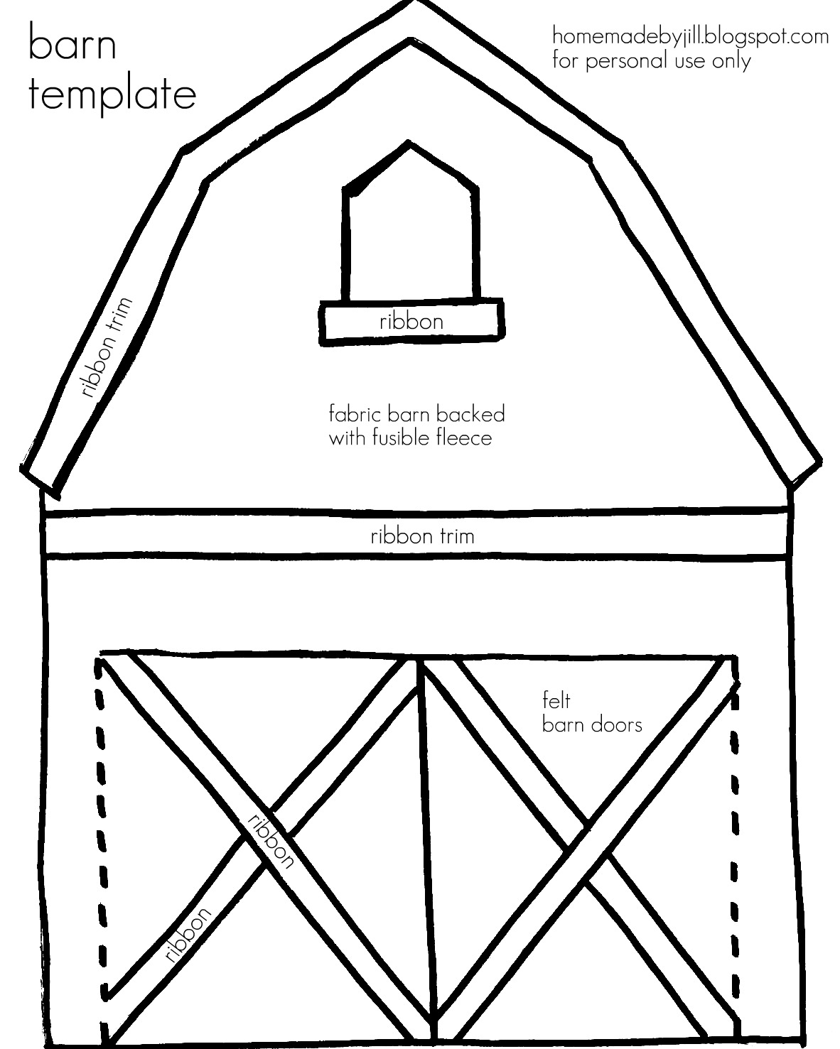 barn coloring pages for kids - photo#31
