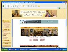 Web de la Fraternidad de Cristo Sacerdote y Santa María Reina