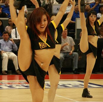 Attractive Sexy Cheerleaders sexy cheerleader