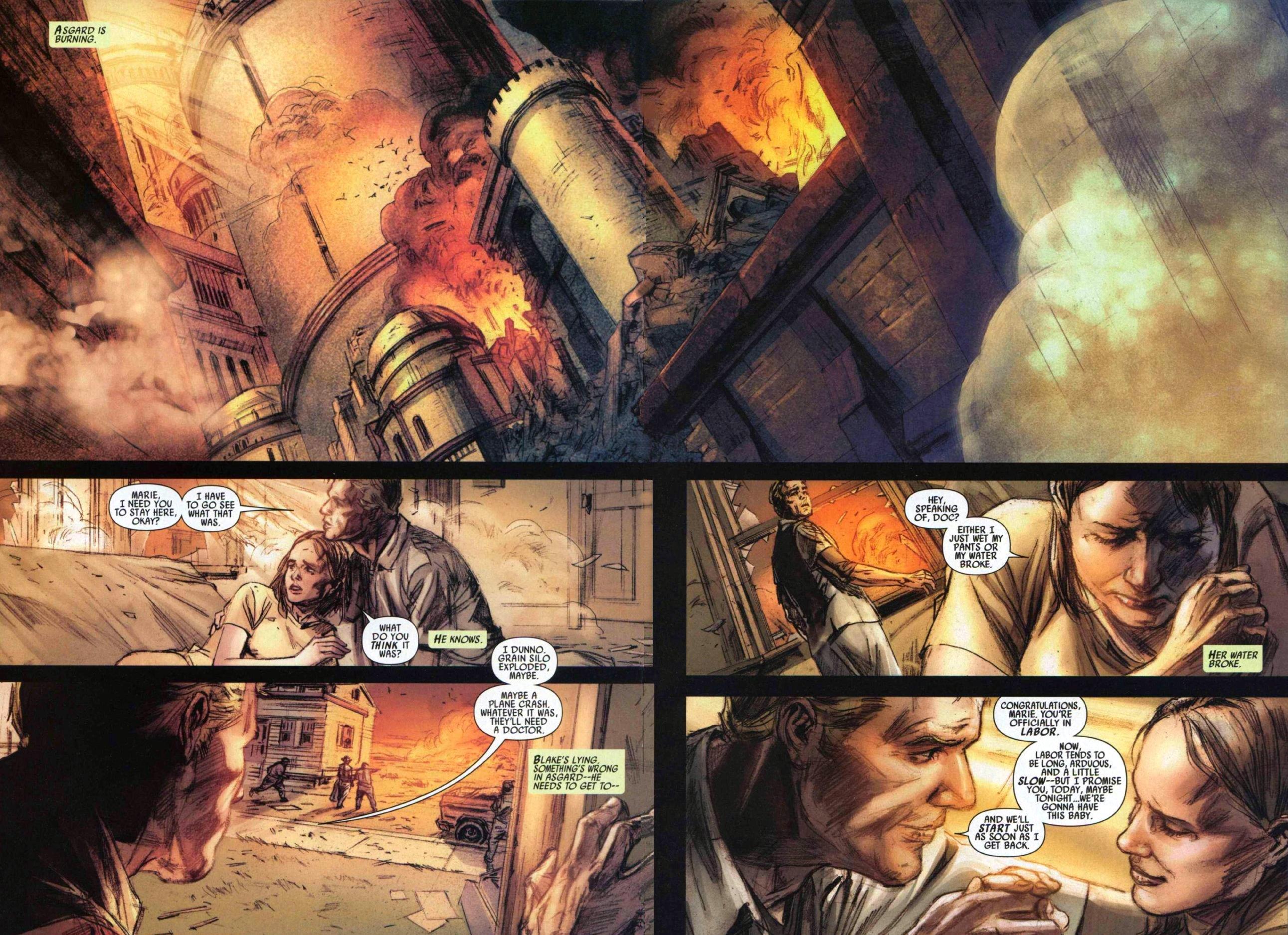 Read online Secret Invasion: Thor comic -  Issue #1 - 5