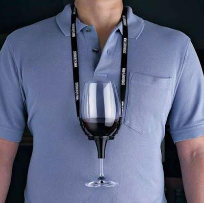 Wine Glass Holder Necklace