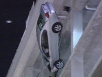 Dangling Car on Seventh Floor