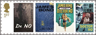 James Bond stamp