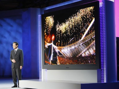 A 150-inch high-definiton plasma TV