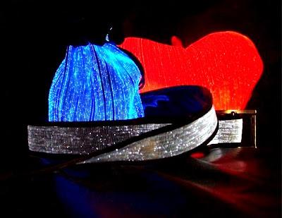 Luminous Fiber Optic Pillow