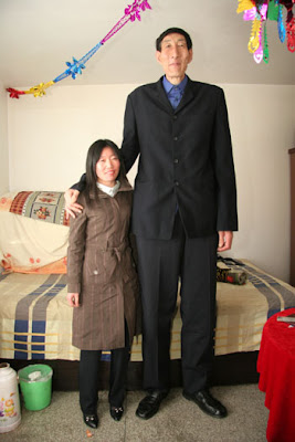World's tallest man finds other half