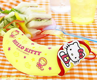 Hello Kitty banana cover