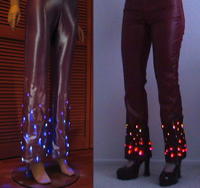 Light-up pants