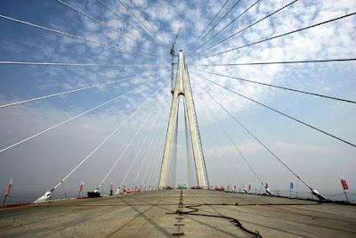 Longest sea bridge