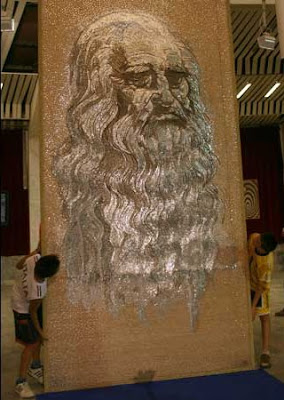 World's largest nail mosaic