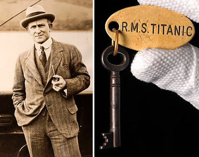 David Blair and the Titanic key