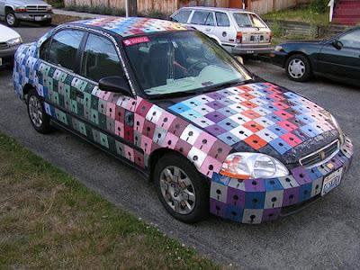 Weigand's Floppy Disk Car