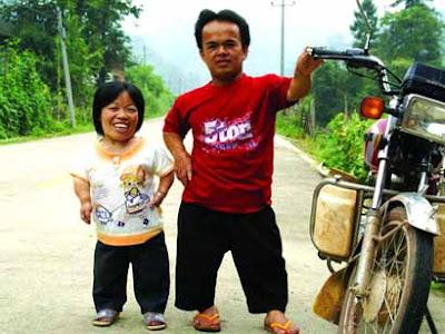 world's shortest couple