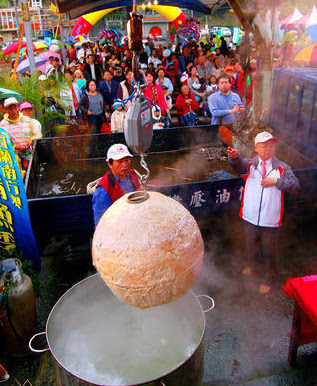 huge mackerel fish ball