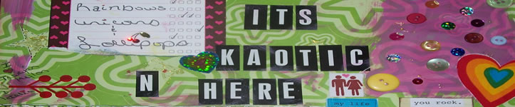 Its Kaotic In Here