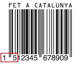 Código de barras catalán COD+CATALAN