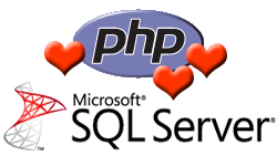 Connect to MSSQL  Server Database using PHP