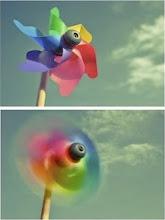...a gente reinventa com o vento, a gente aprende a passar....