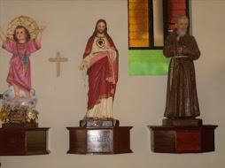 Nuestras Devociones al Divino niño, al Sagrado Corazón de Jesús y a Padre Pío