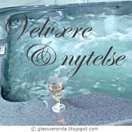 Gleden av et spa / utendrs massasjebad / Jacuzzi - The pleasure of a spa / outdoor spa / Jacuzzi