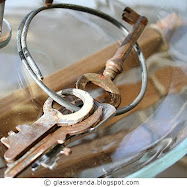 Pynt med gamle nøkler - Decorate with old keys