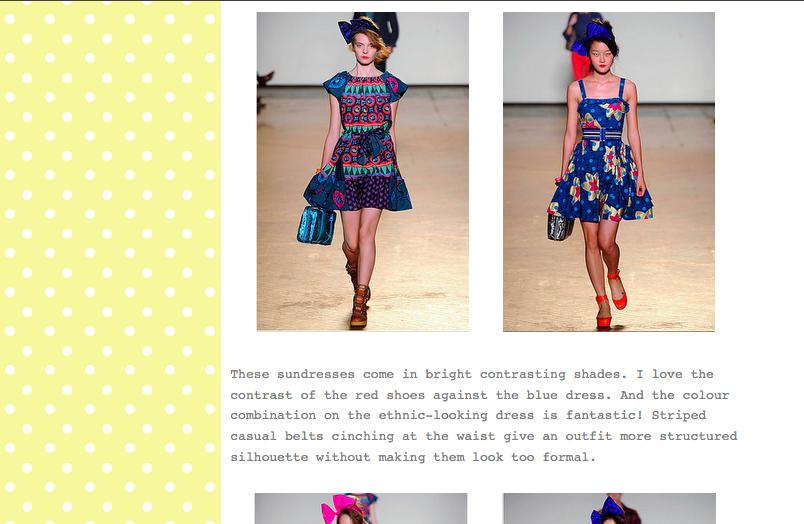 Hello Fashion Blog Gomi