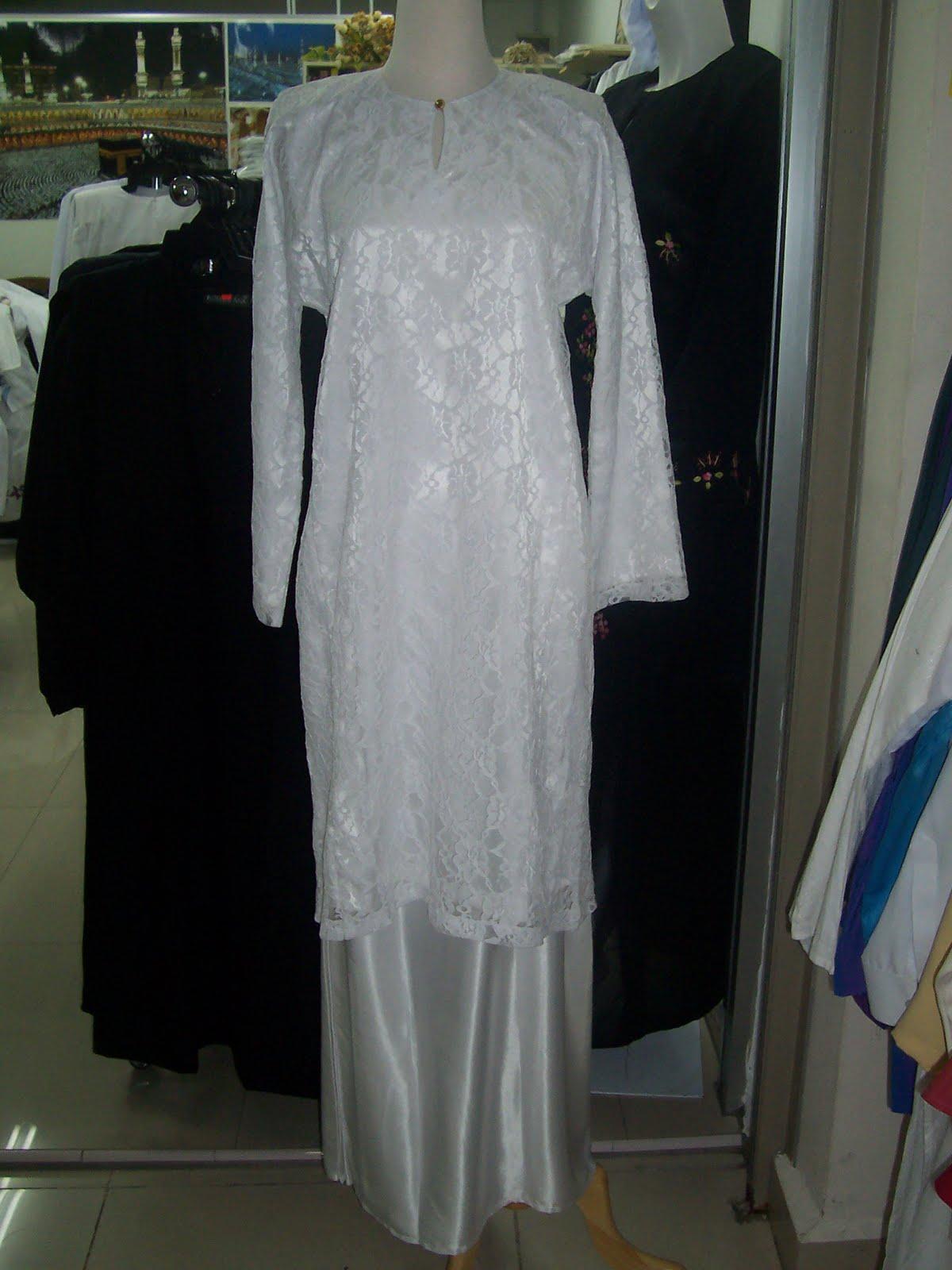 Baju Kebaya Putih Pakaian Haji Dan Umrah Koleksi Ana