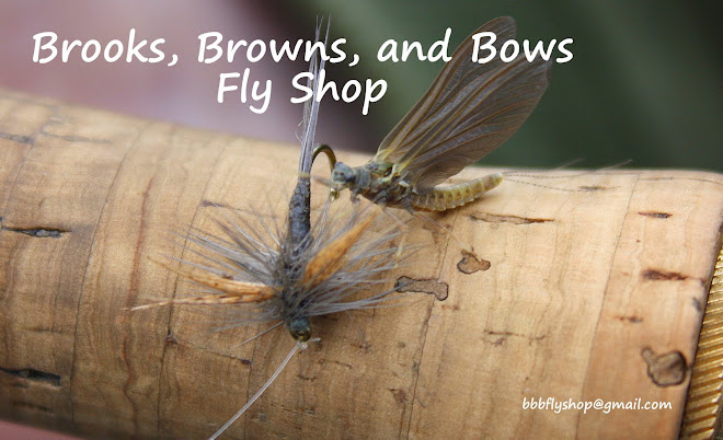 Brooks, Browns, and Bows Fly Shop