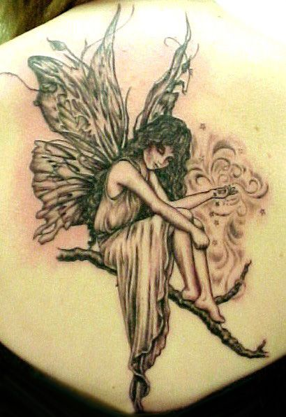 wrist tattoos designs. A fairy tattoo is often very