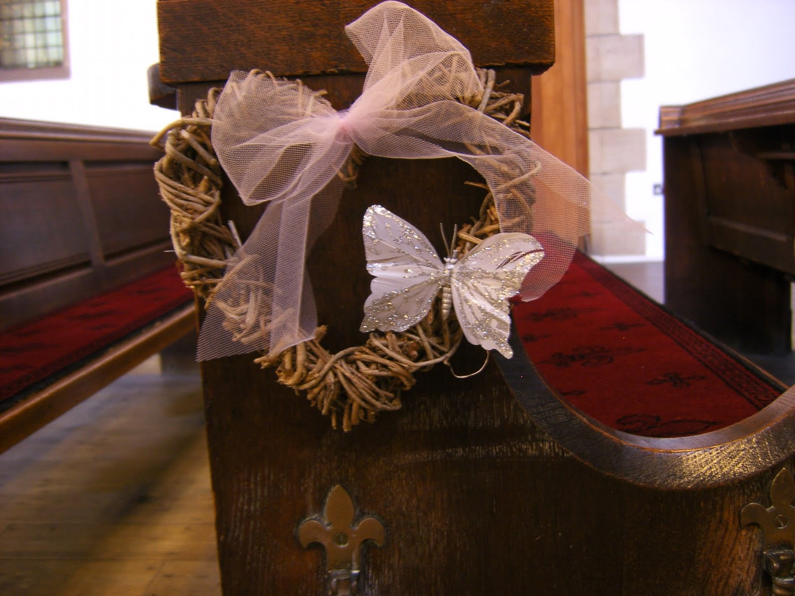 Church Wedding Decoration