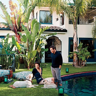 Celebrity House Pictures on Jessica Alba S Home   It S Kid Friendly  Animal Friendly  You Can