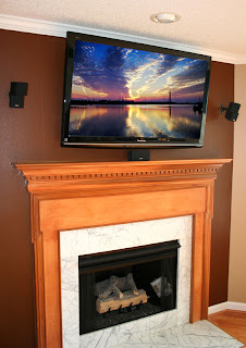 Real Home Theaters Blog See One Of Our Newest TV Installations