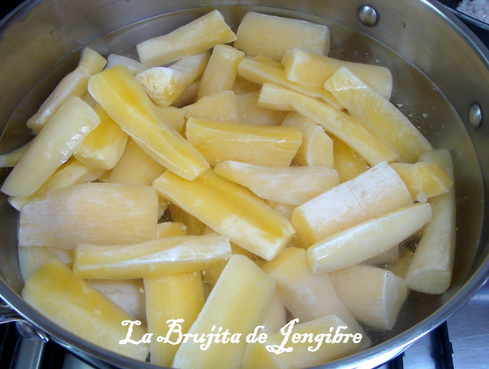 La brujita de jengibre pur de yuca antiguo hechizo en - Como cocinar yuca ...