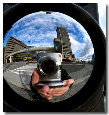 Baltimore Inner Harbor 'Fisheye'