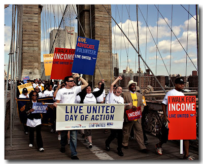 United Way March  Brooklyn Bridge