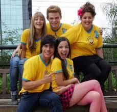 isa e sua turma no brasil!
