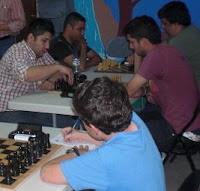 Partidas en el III Festival de Ajedrez Ciudad de Badajoz
