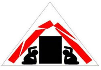 señal triangulo de la vida