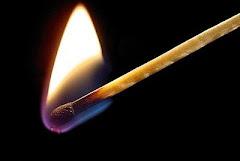 Uma pequena chama é capaz...