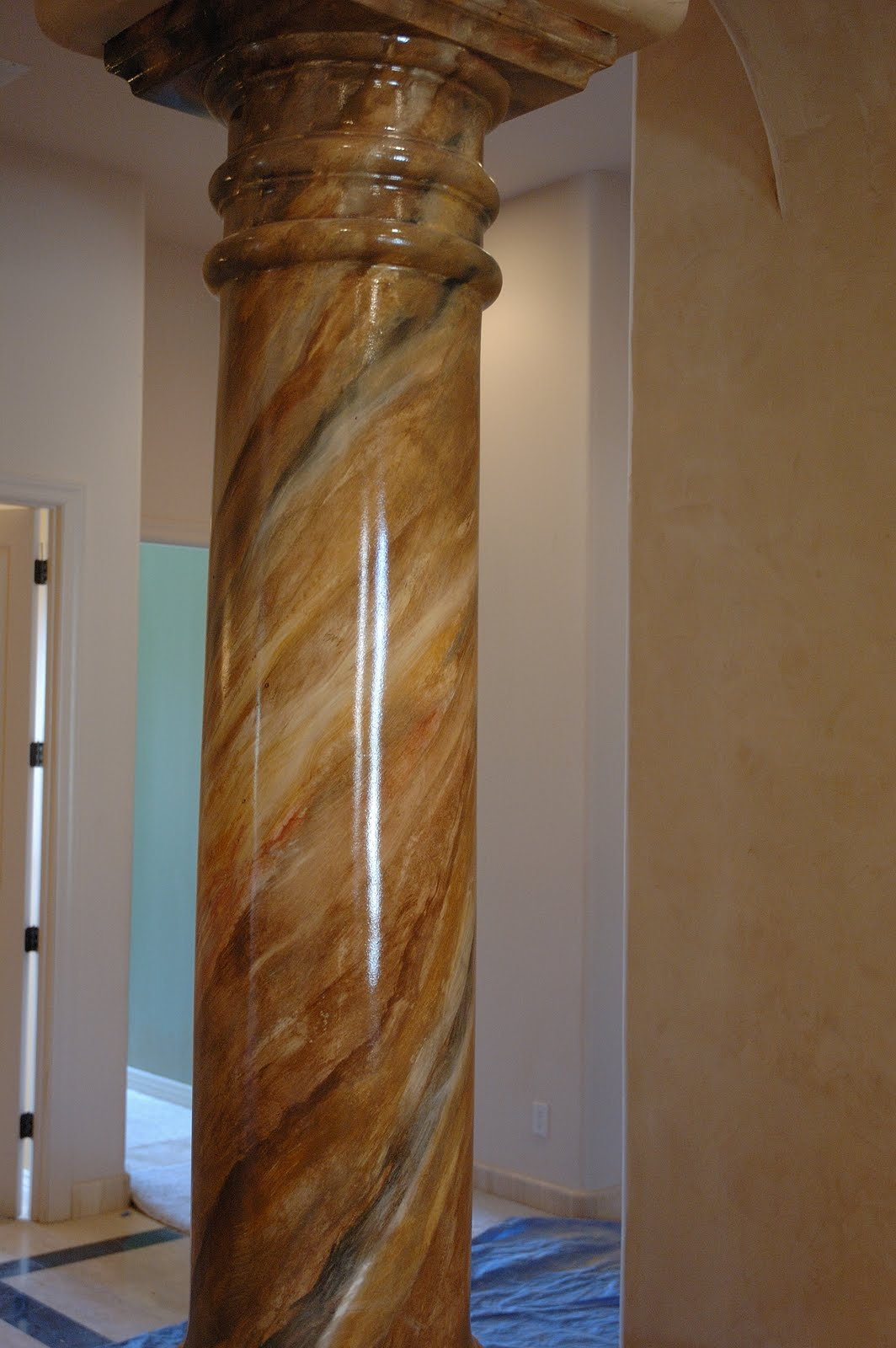 Ivenetian italian plaster training and sales 480 205 0123 Faux finish