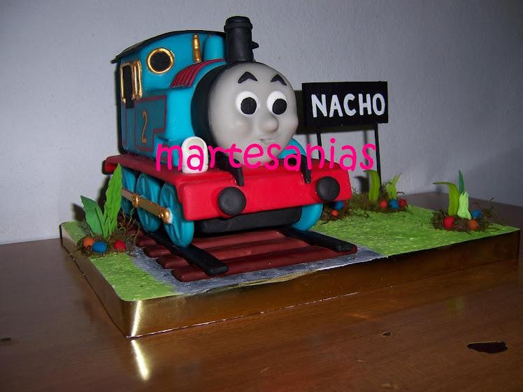 Adorno para torta Tren Thomas
