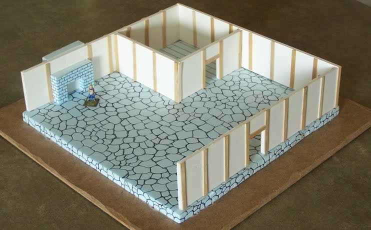 Ferrous lands miniatures and book reviews 28mm scratch for How to build a home bar from scratch