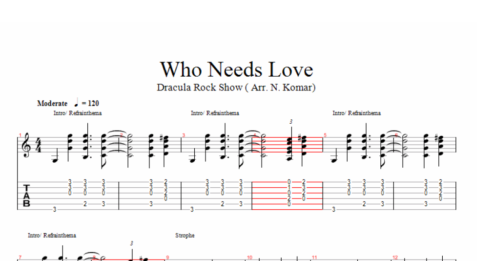 musical dracula score pdf