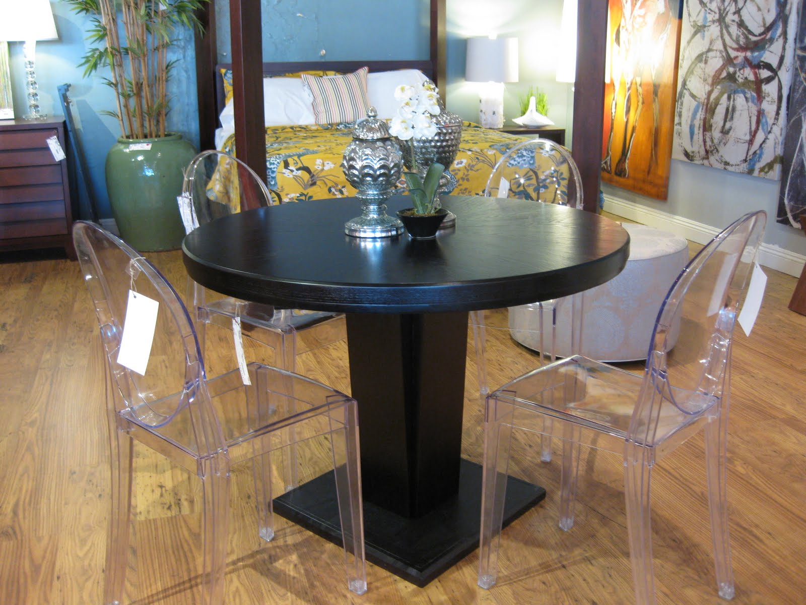 Corvallis Extension Dining Table 1199 Made From Solid Indian Shesham Wood Chairs 199 Each