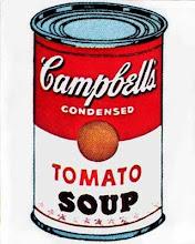 """Sopa campbell's"" de Andy Warhol"