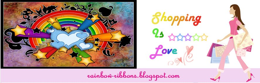 Rainbow Ribbons ... Rainbows are ribbons of style